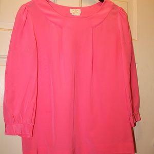 kate spade njmu2055 silk blouse